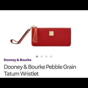 NWT DOONEY & BOURKE WALLET / WRISTLET